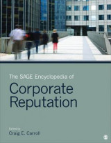Omslag - The SAGE Encyclopedia of Corporate Reputation