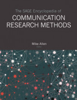 Omslag - The SAGE Encyclopedia of Communication Research Methods