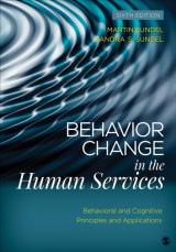 Omslag - Behavior Change in the Human Services