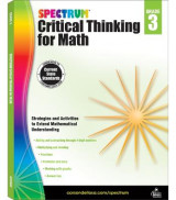 Omslag - Spectrum Critical Thinking for Math, Grade 3