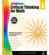 Omslag - Spectrum Critical Thinking for Math, Grade 4