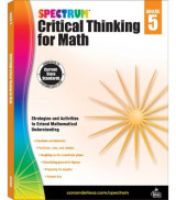 Omslag - Spectrum Critical Thinking for Math, Grade 5