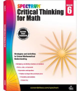 Omslag - Spectrum Critical Thinking for Math, Grade 6