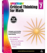 Omslag - Spectrum Critical Thinking for Math, Grade 7