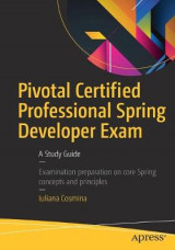 Omslag - Pivotal Certified Professional Spring Developer Exam 2016