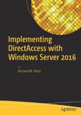 Omslag - Implementing DirectAccess with Windows Server 2016
