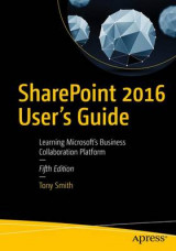 Omslag - SharePoint 2016 User's Guide