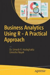 Omslag - Business Analytics Using R - A Practical Approach