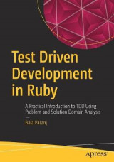 Omslag - Test Driven Development in Ruby