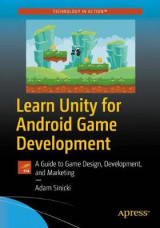 Omslag - Learn Unity for Android Game Development