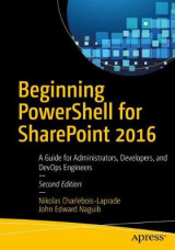 Omslag - Beginning PowerShell for SharePoint 2016
