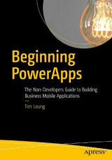 Omslag - Beginning PowerApps