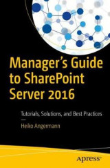 Omslag - Manager's Guide to SharePoint Server 2016
