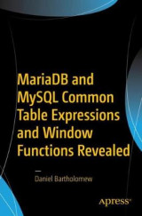 Omslag - MariaDB and MySQL Common Table Expressions and Window Functions Revealed