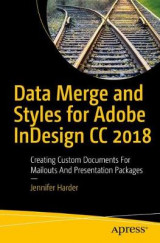 Omslag - Data Merge and Styles for Adobe InDesign CC 2018