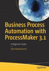 Omslag - Business Process Automation with ProcessMaker 3.1