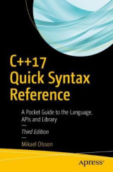 Omslag - C++17 Quick Syntax Reference