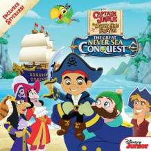 Captain Jake and the Never Land Pirates the Great Never Sea Conquest av Disney Book Group (Heftet)