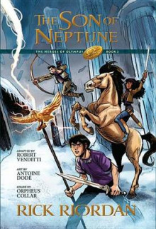 The Heroes of Olympus, Book Two, the Son of Neptune: The Graphic Novel av Robert Venditti (Innbundet)