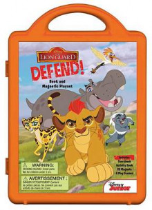 The Lion Guard Lion Guard, Defend! av Disney Book Group (Innbundet)