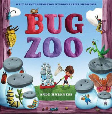 Bug Zoo av Disney Book Group og Lisa Wheeler (Innbundet)