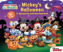 Mickey Mouse Clubhouse Mickey's Halloween av Disney Book Group, Matt Mitter og Various (Pappbok)
