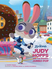 Zootopia: Judy Hopps and the Missing Jumbo-Pop av Disney Book Group og Suzanne Francis (Innbundet)