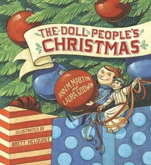 The Doll People's Christmas av Ann M Martin og Laura Godwin (Innbundet)