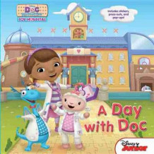 Doc McStuffins a Day with Doc av Disney Book Group (Innbundet)