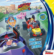 Mickey and the Roadster Racers Race for the Rigatoni Ribbon av Disney Book Group (Heftet)