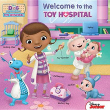 Doc McStuffins Welcome to the Toy Hospital av Disney Book Group (Pappbok)