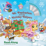 Omslag - Whisker Haven Tales with the Palace Pets: Ms. Featherbon and the Holiday Helpers