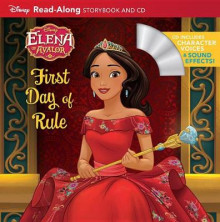 Elena of Avalor Read-Along Storybook and CD Elena's First Day of Rule av Disney Book Group (Heftet)