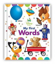 Disney Baby My First Words av Disney Book Group (Pappbok)
