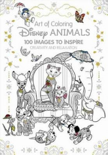 Art Therapy: Disney Animals av Catherine Saunier-Talec (Innbundet)