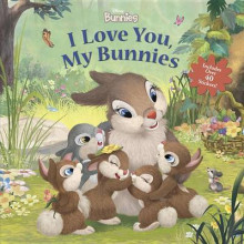 Disney Bunnies I Love You, My Bunnies Reissue with Stickers av Disney Book Group (Heftet)