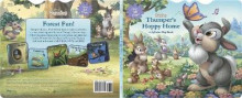 Disney Bunnies Thumper's Hoppy Home av Disney Book Group (Pappbok)