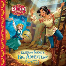 Elena of Avalor: Elena and Naomi's Big Adventure av Disney Book Group (Heftet)