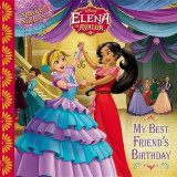 Omslag - Elena of Avalor: My Best Friend's Birthday