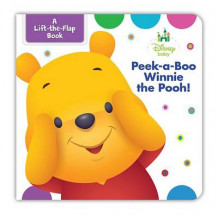 Disney Baby Peek-A-Boo Winnie the Pooh av Disney Book Group (Pappbok)