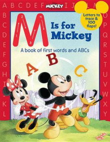 M Is for Mickey av Disney Book Group (Pappbok)