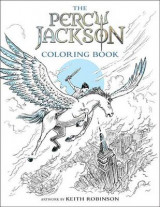 Omslag - The Percy Jackson Coloring Book