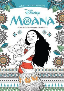 Art of Coloring: Moana av Disney Book Group (Heftet)