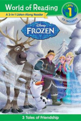 Omslag - World of Reading: Frozen Frozen 3-In-1 Listen-Along Reader (World of Reading Level 1)