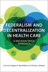 Omslag - Federalism and Decentralization in Health Care