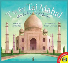 T Is for Taj Mahal av Varsha Bajaj (Innbundet)