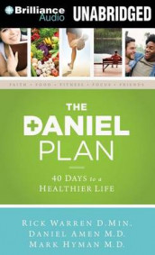 The Daniel Plan av Daniel Amen, Mark Hyman og Rick Warren (Lydbok-CD)