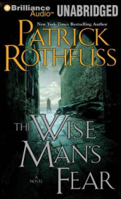 The Wise Man's Fear av Patrick Rothfuss (Lydbok-CD)