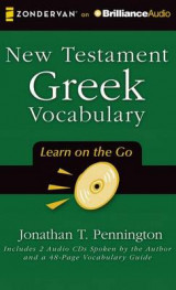 Omslag - New Testament Greek Vocabulary