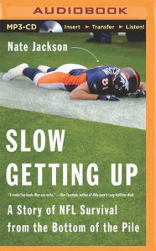 Slow Getting Up av Nate Jackson (Lydbok-CD)